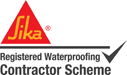 Registered Sika Waterproofing contractor