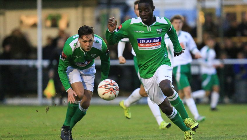 Leatherhead vs Bognor Regis Town, Ryman League Premier Division, Football, Fetcham Grove, Leatherhead, Surrey, United Kingdom - 19 Nov 2016