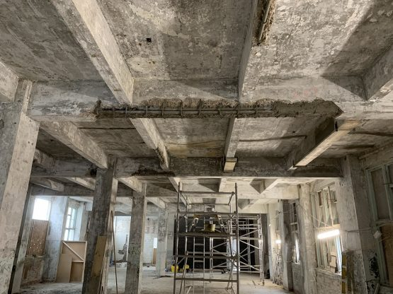 Structural Renovations Observer Building Concrete Repairs